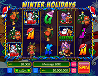 "Online Slot game for SALE - ""Winter Holidays"""