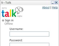 X-Talk: Google Talk Clone