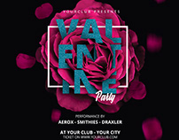 Valentine Flyer & Social Media Banner Template