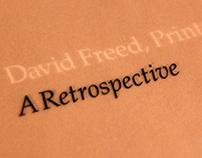 David Freed, Printmaker