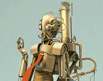 steampunk C3PO