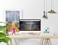 Amira Lighting web and branding