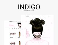 Indigo. Redesign