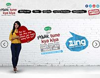 Zing Tv / Microsite for PTTK
