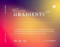 Funky Gradient Textures Vol.2 Designed byPixelbuddha