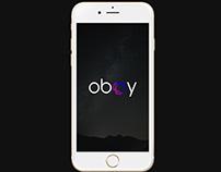 """Oboy"" Wallpaper IOS Mobile Application. UX/UI Design"
