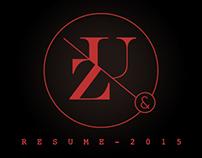resume - 2015 ( free psd )