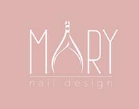 Mary Nail Design Custom Logo