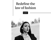 Redefine the law of fashion/AD
