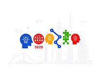 GOOGLE DOODLE — EXPO 2020 DUBAI