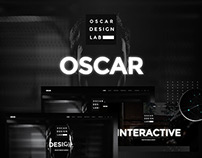 Oscar - Minimal Parallax One Page Template