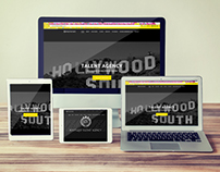 Boutique Talent Agency Responsive Website
