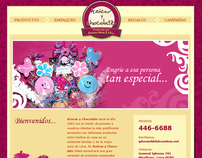 Dulces Ideas - Website