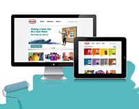 Glidden Paint Website