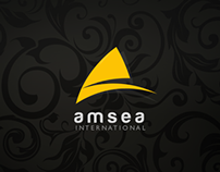 Amsea - Logo & Branding by @freshmindideas