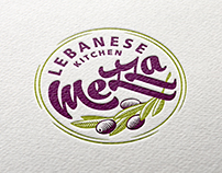 Mezza Lebanese Kitchen / Branding