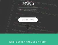 a web-designer responsive portfolio [KayTouch]