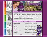 Llamagas - Website