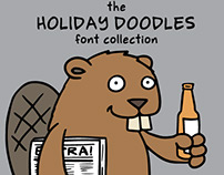 The Holiday Doodles font collection (free!)