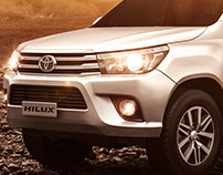 Keko | Toyota Hilux - desert