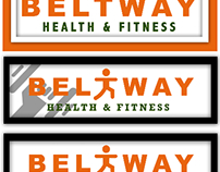 BELTWAY Health & Fitness Logo Concept