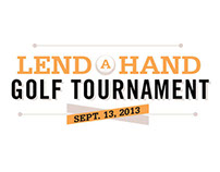 Lend a Hand Golf Tournament Identity