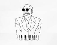 iconos musicales - inspiraciones