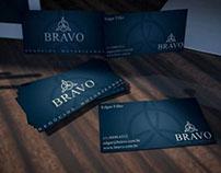 ID Visual + Papelaria empresa Bravo LTDA