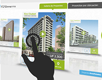 Touchscreen Inmobiliaria Fundamenta