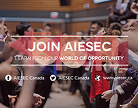 JOIN AIESEC National Campaign: AIESEC Canada