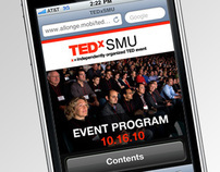 TEDxSMU Mobile Event Program
