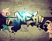 Graffitti Style