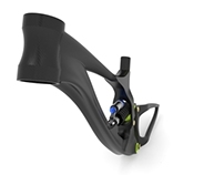 Downhill bike frame prototype