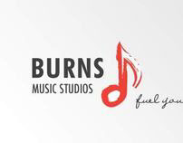 Burns Music Studios Identity