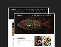 WordPress Theme - FoodMania