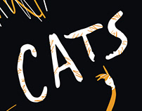 Broadway's musical CATS poster