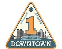 Boston EMS Patch