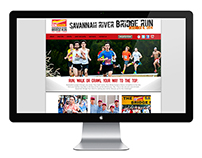 Savannah River Bridge Run Website