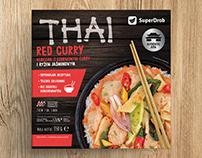 THAI | Superdrob | packaging
