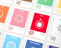 Natural (2014 Calendar)