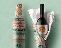 Label design · Xmas Wine