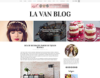 Layout - La Van Blog