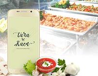 TaraKaen (A Filipino Food Mobile ordering app) ui/ux