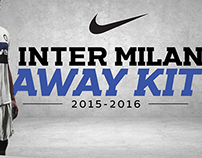 Inter Milan Away Kit - Campaign SiteProject