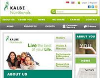 Kalbe Nutritional Responsive Web Design