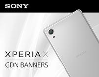SONY   Xperia X   GDN Banners