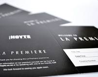Hoyts La Premiere Welcome Card