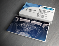 Sky Simulator Business Card