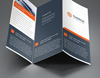 Sunrise Corporate Trifold & Z-fold Brochure