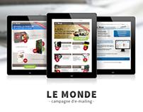 Le Monde - E-mailing